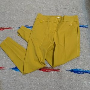 Loft Outlet Mustard Yellow Pants